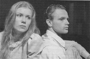 На сцене Луизе (Анастасии) и Фердинанду (Александру) пришлось пережить не только любовь, но и коварство.